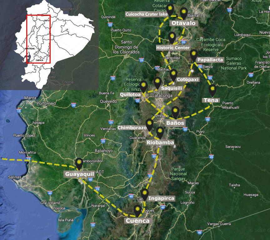 Complete Ecuador Highlights