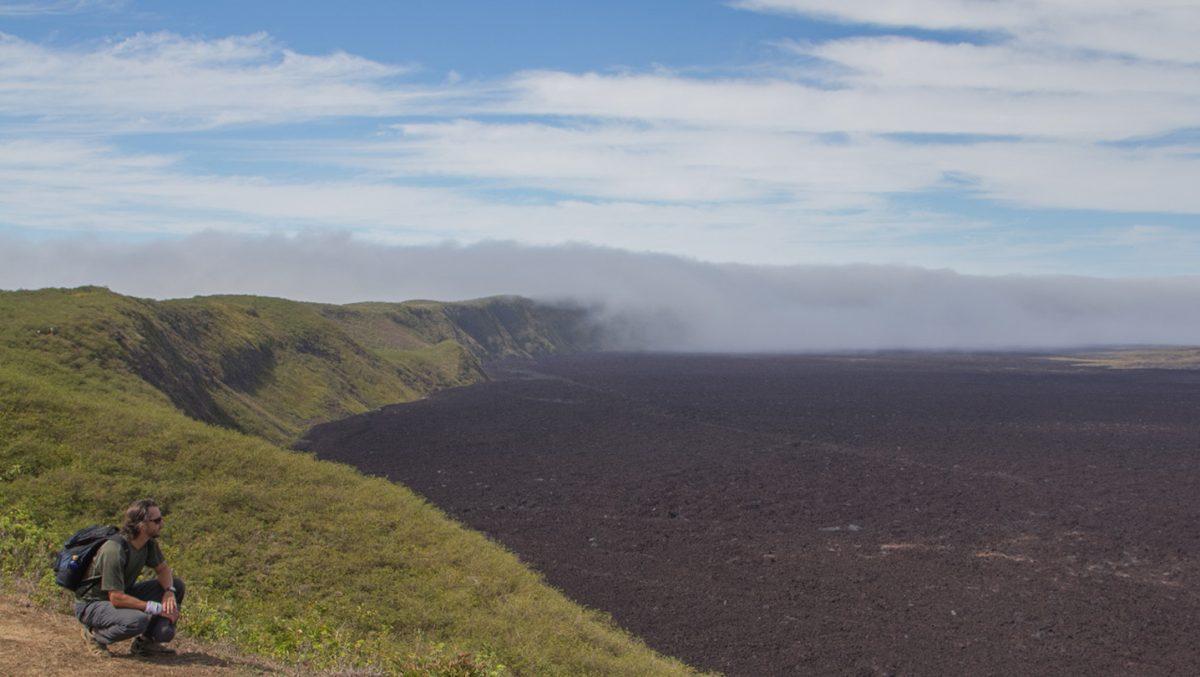 Sierr Negra volcan