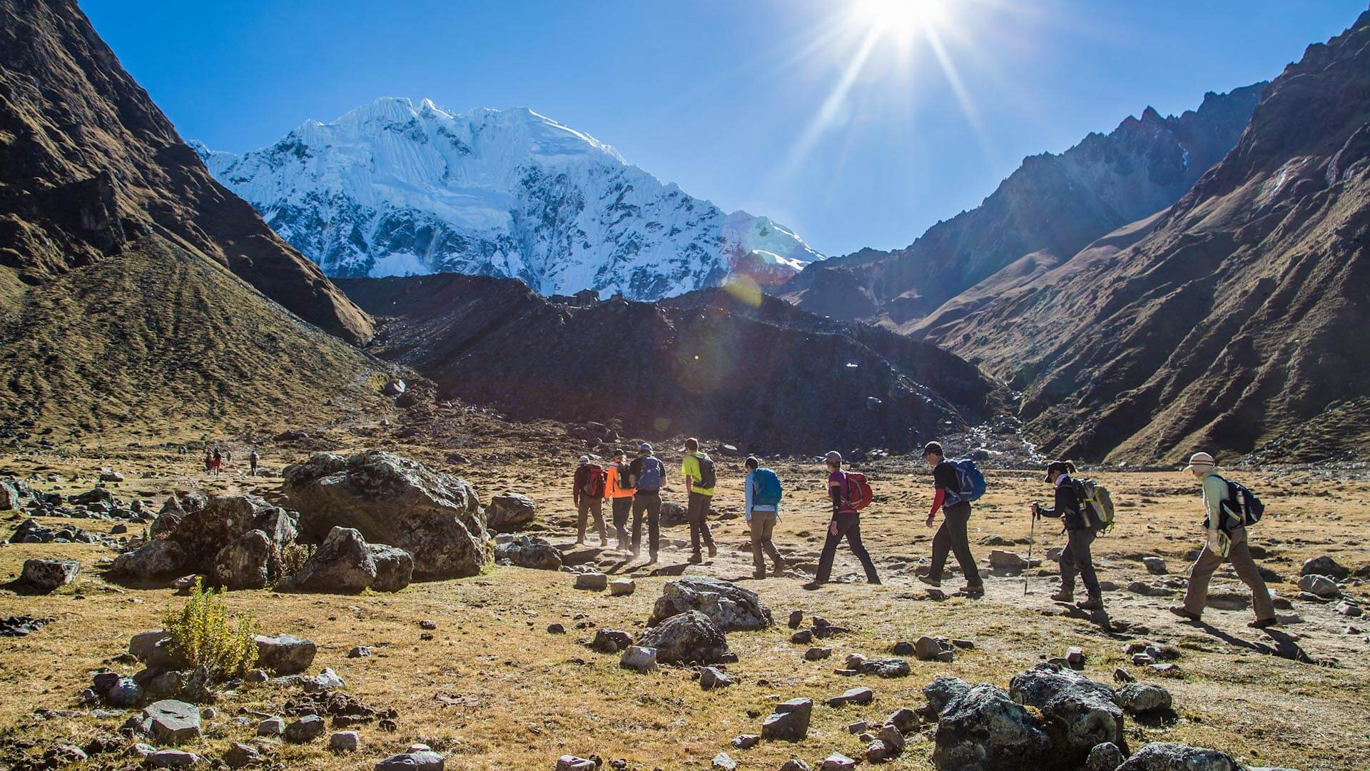 Salkantay trek Peru Machu Picchu