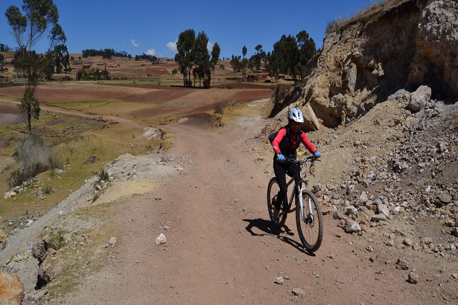 mountain biking peru