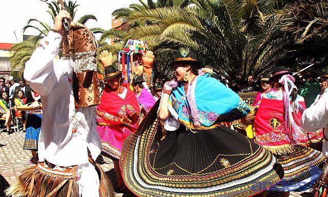 traditional fest ecuador