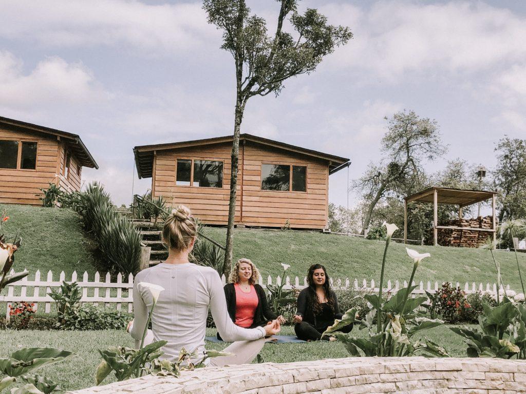Yoga retreat at Papagayo Lodge