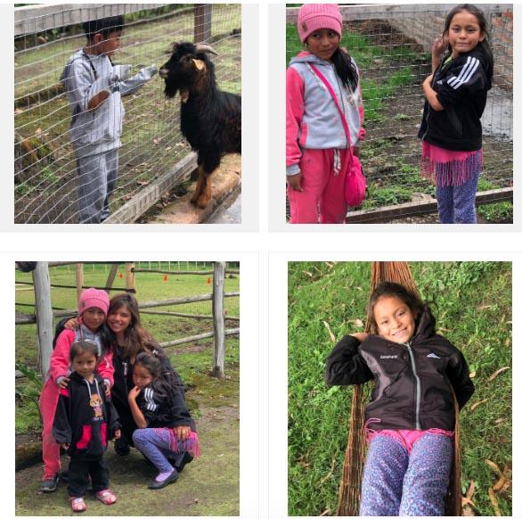 Field trip with children